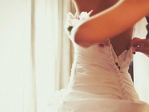 Packages. wedding dress